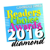 2016 Cambridge Times Readers Choice Awards - Diamond