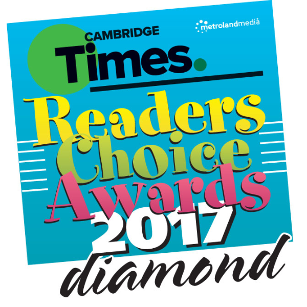 2017 Cambridge Times Readers Choice Awards - Diamond