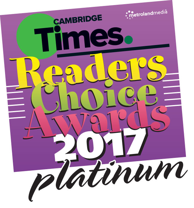 2017 Cambridge Times Readers Choice Awards - Platinum